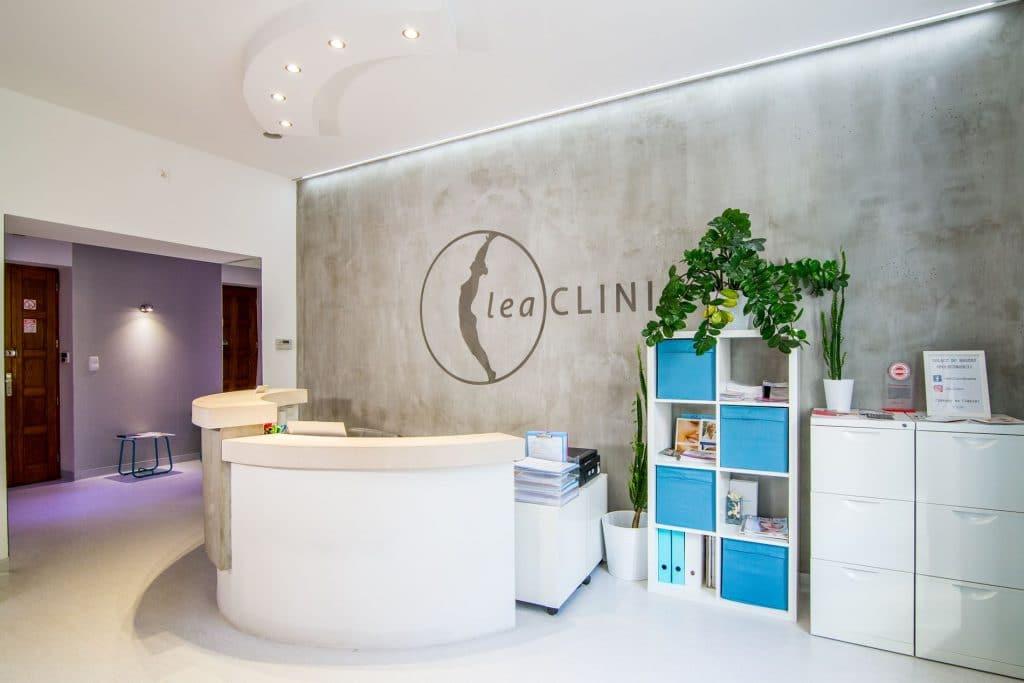 Leaclinic klinika - recepcja